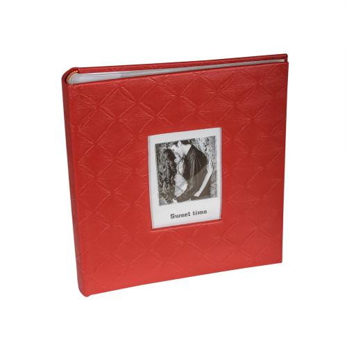 Купить Фотоальбом Chako 13x18x200 Rhombus Red