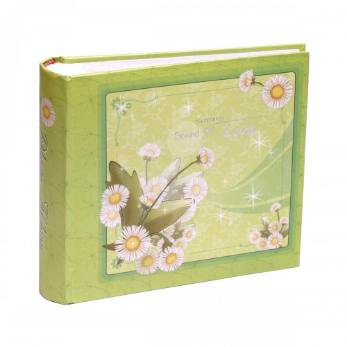 Купить Альбом CHAKO 10*15/100 C-46100RCG FLOWER green