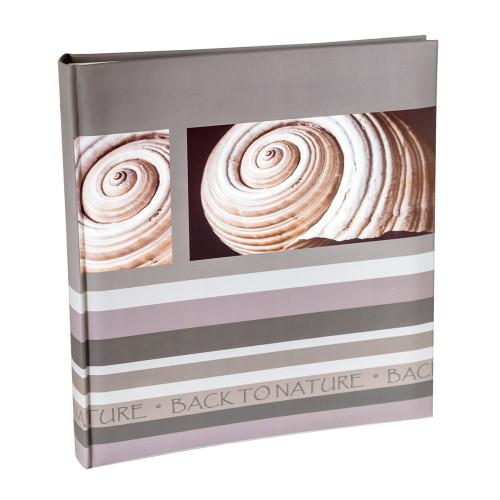 Купить Альбом HENZO 290*330 BACK TO NATURE 100 white pages 10.628.00 Dark Grey