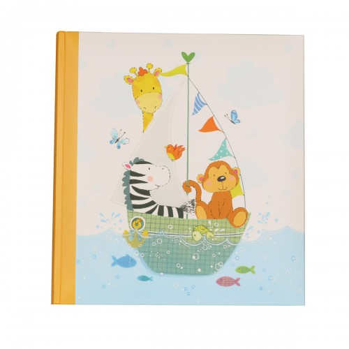 Купить Альбом Walther 28*30,5 Baby album by my side, brown UK-277-P 50 pages