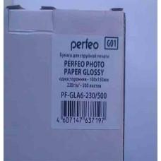 Фотобумага A6 Perfeo 230 g/m 100л