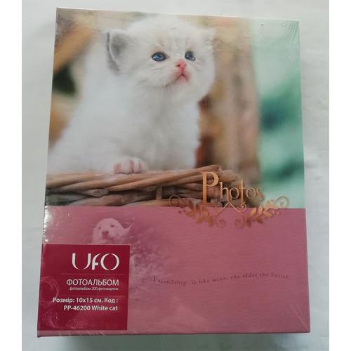 Купить Фотоальбом UFO 10x15x200 46200 White cat