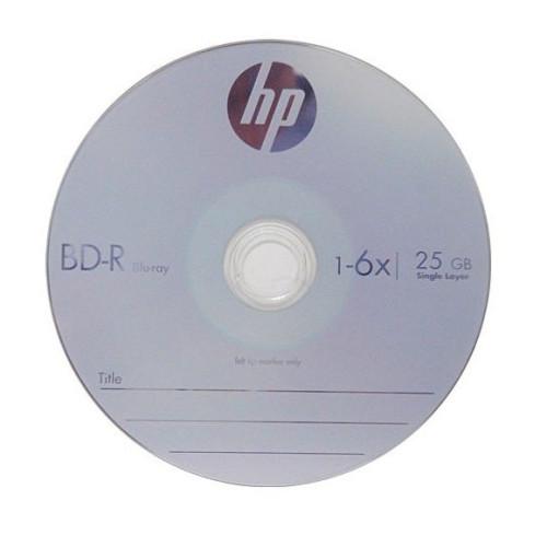 Купить BD-R HP 25Gb Cake10 6x