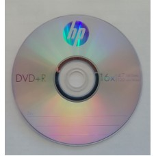 DVD+R HP 4.7GB Bulk50 16x