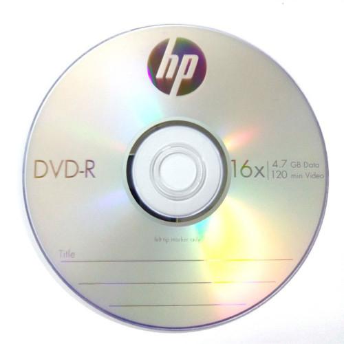 Купить DVD-R HP 4.7GB Bulk50 16x