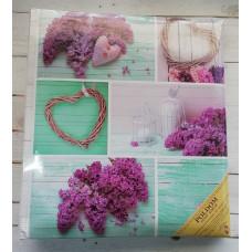 Фотоальбом Poldom T29x32 50л Lavende cream pages